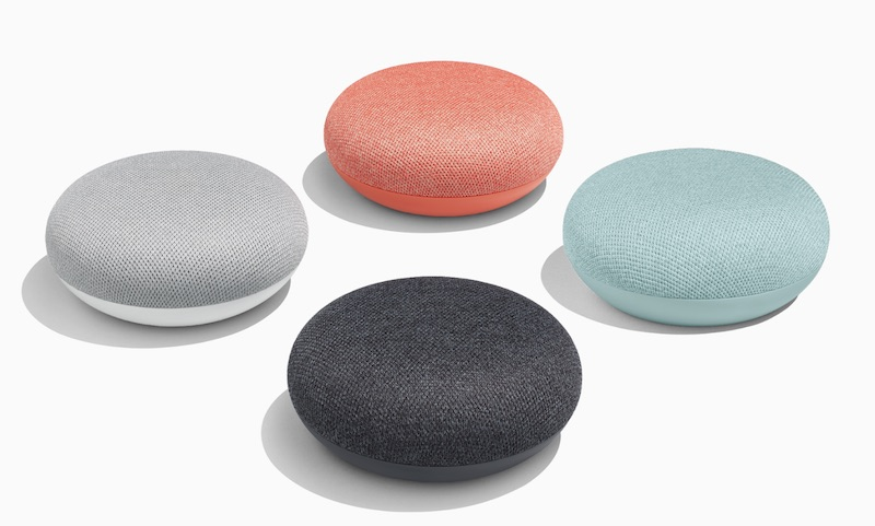 Loa Google nhỏ gọn và hỗ trợ các tinh năng thông minh