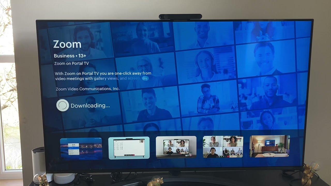 zoom tren portal tv